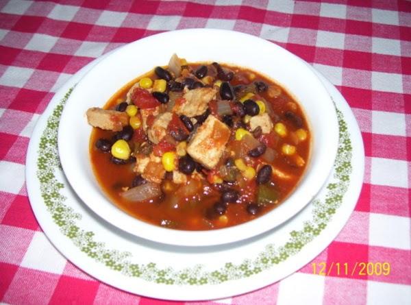Blackbean Chili Recipe