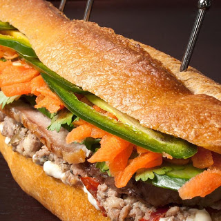 Pork and Pâté Vietnamese Sandwich (Banh Mi)