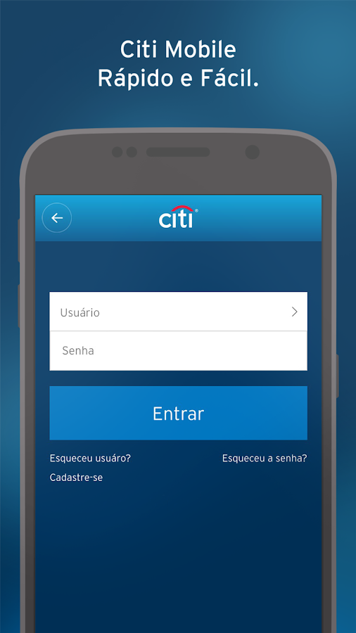 Citi Mobile BR- screenshot