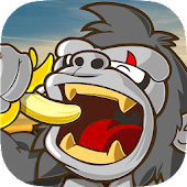Kong Want Banana: Gorilla game