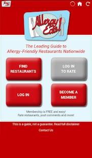 AllergyEats- screenshot thumbnail