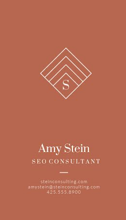 Stein SEO Consultant - Business Card item