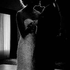 A&K Wedding by Rob Casey - Wedding Bride & Groom ( kiss, first dance, married, black and white, ash kevin wedding, wedding, bride and groom, bride, groom )