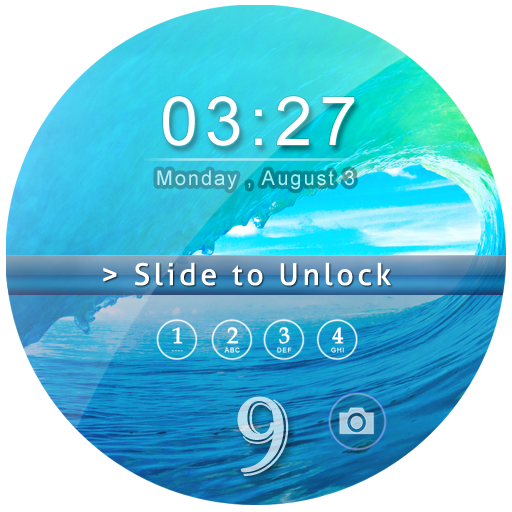 Keypad Lockscreen OS 9-Phone 7