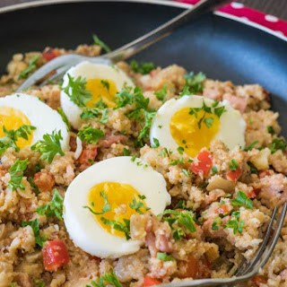 Bacon Cauliflower Breakfast Skillet Recipe