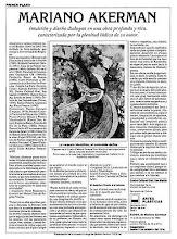 "Photo: Buenos Aires, Centro Cultural San Martín, ""Pasos, de Mariano Akerman"" (Steps), solo-exhibit catalog, October 1990 http://akermariano.blogspot.com/2012/12/mariano-akerman.html"