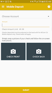 AllCom CU Mobile Banking- screenshot thumbnail