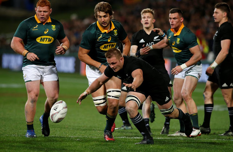 All Blacks vs South Africa Springboks in Auckland, New Zealand. Picture: REUTERS/Nigel Marple