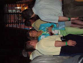 Photo: Chris Hurn networking at Mercantile Capital Corporation's 504 Day Happy Hour at the NADCO Annual Meeting. www.504Experts.com