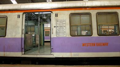Photo: WR train at Churchgate station