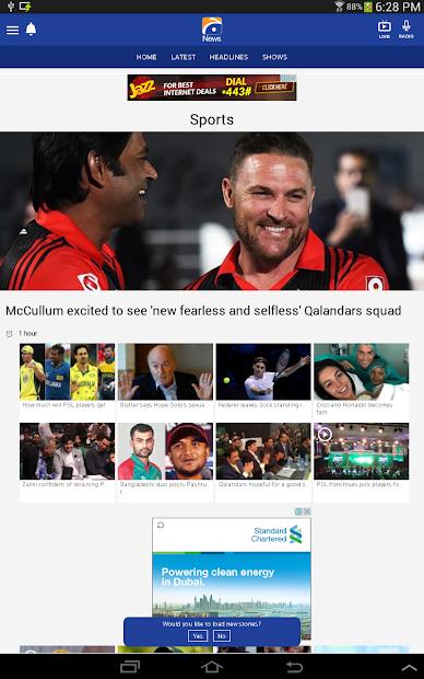 Geo News screenshot 7
