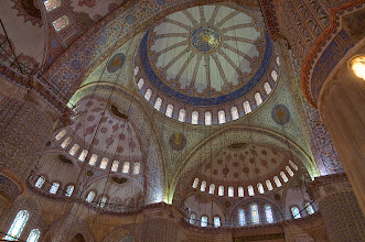 Photo: Inside blue Mosque