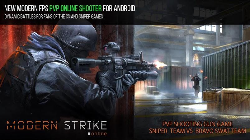 Modern Strike Online v1.20.2 (Mod Ammo/Premium)
