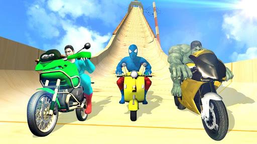 Super Hero Bike Mega Ramp 1.3 screenshots 6