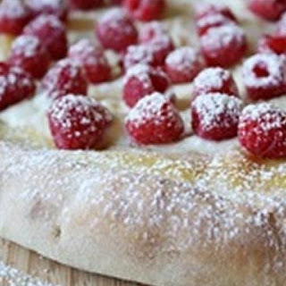 Raspberry-Mascarpone Pizza Recipe