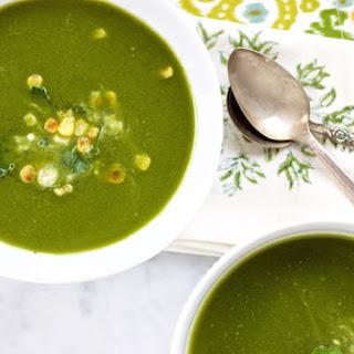 Cream Of Poblano And Spinach Cream