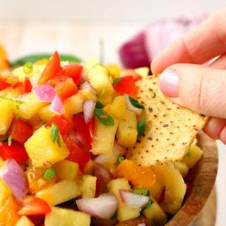 Tropical Pineapple Mango Salsa