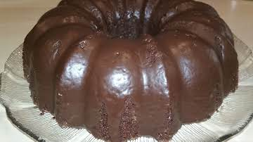 Chocolate Glazed Banana Bundt Cake