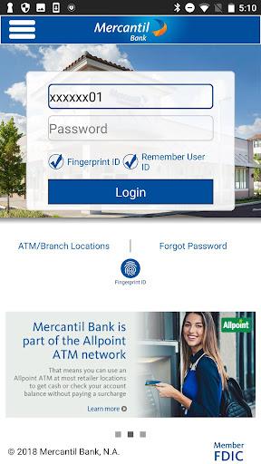 Mercantil Mobile  screenshots 1
