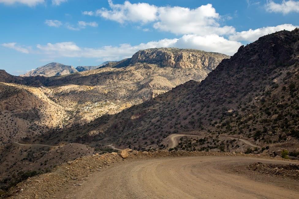 okolice Wielkiego Kanionu Omanu, Oman
