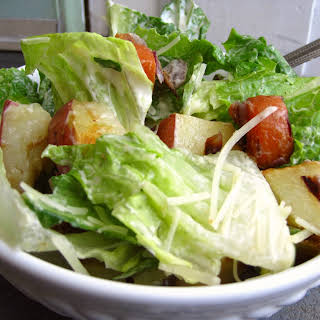Roasted Vegetable Ranch Salad.