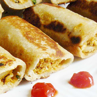 Paneer Bread Roll