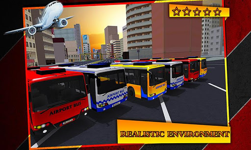 Airport Bus Duty Driving 3D