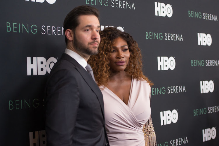 Is Serena Williams' prominence as the greatest black athlete of all time tarnished because of her marriage to a white man, Alexis Ohanian?, asks the writer.