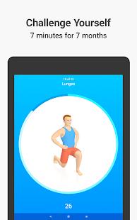 Seven - 7 Minute Workout Screenshot