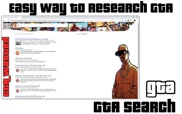 GTA Search