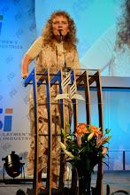 Photo: G. Pietruska - prezidentka ASI Německo