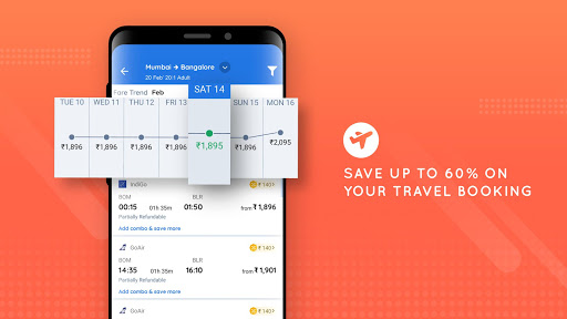 Goibibo - Hotel Car Flight IRCTC Train Bus Booking screenshot 4