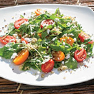 Arugula Tomato Quinoa Salad