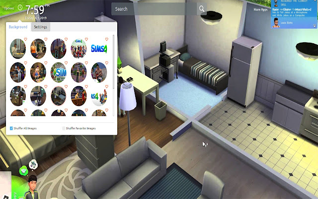 The Sims 4 Wallpapers Theme New Tab