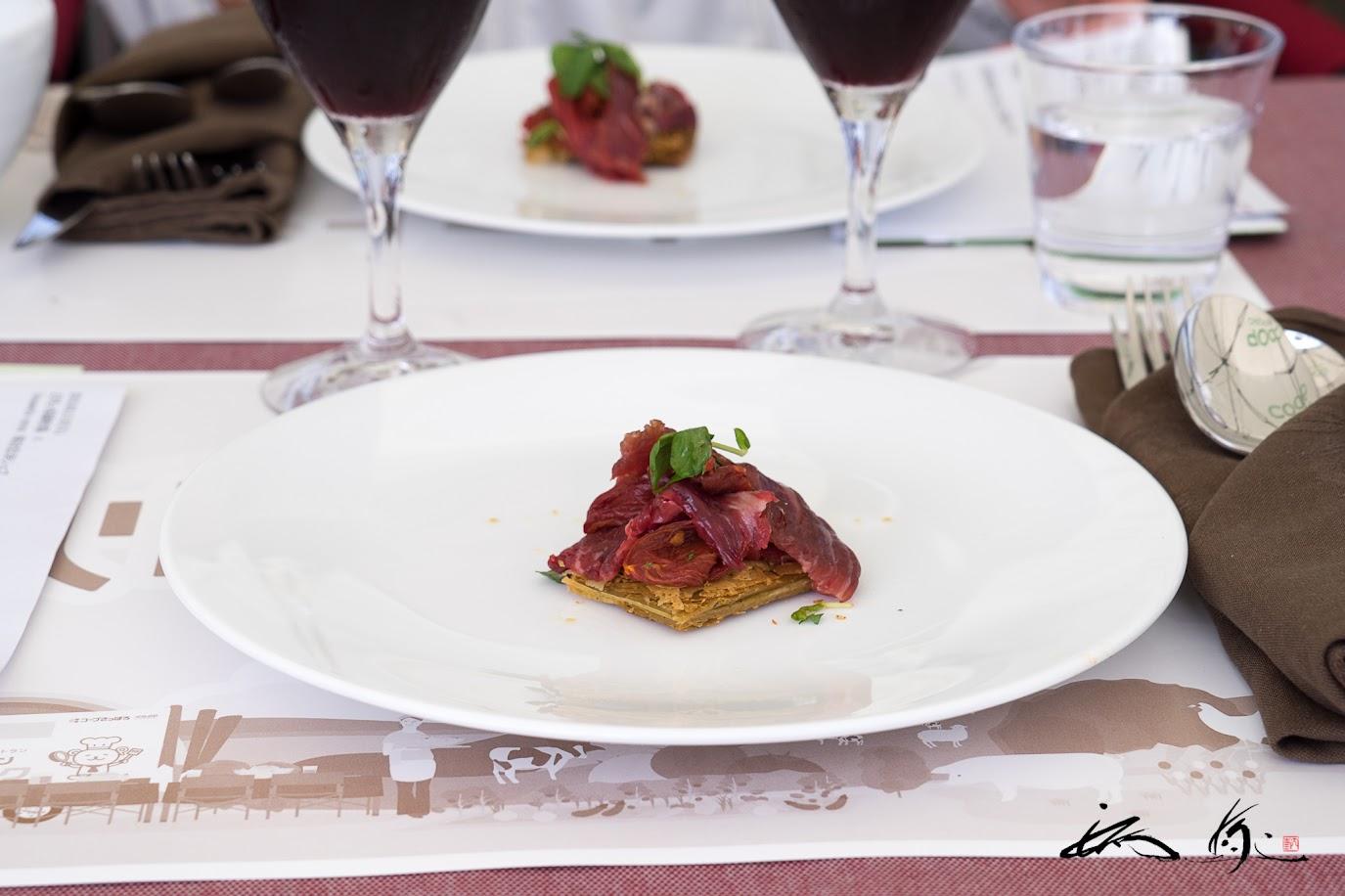 昆布 短角牛 トマト