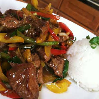 Chinese Five Spice Beef Stir-Fry.