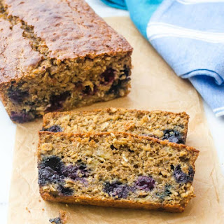 Banana Blueberry Oatmeal Bread {recipe and photos updated 4-8-15}
