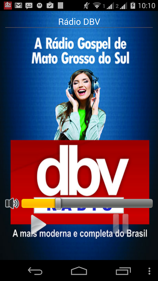 Rádio DBV- screenshot