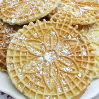 Pizzelle.