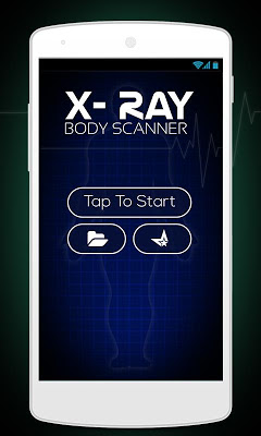 X-Ray Girl Scanner Prank - screenshot