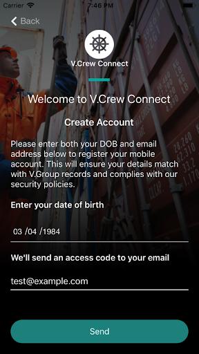 V.Crew Connect 1.0.5 screenshots 1