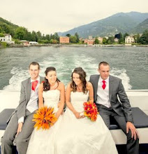 Photo: Double wedding on the lake! Wedding planning available.