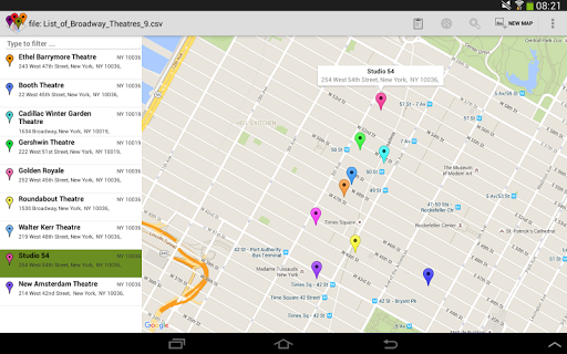 SalesMasterMap - Batch Geocode Android screenshot 9