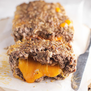 Cheese Stuffed Meatloaf with Chorizo.