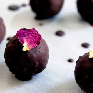 Healthy Marzipan + Raw Chocolate (Vegan, Sugar-Free) Recipe