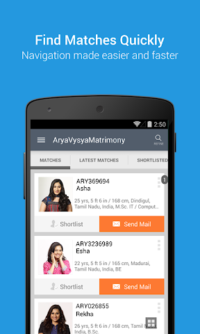 android AryavysyaMatrimony Screenshot 0