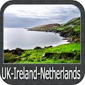 UK-Ireland-Netherlands GPS icon