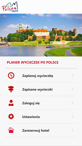 Planer wycieczek po Polsce