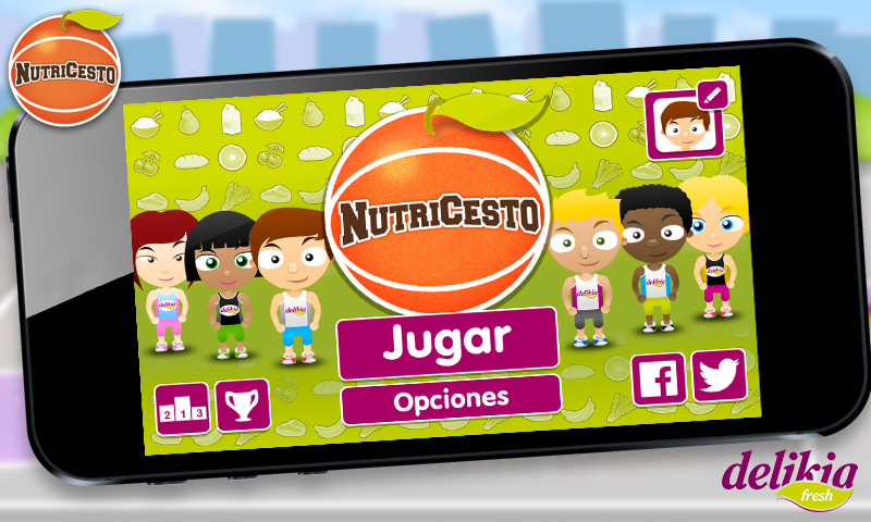 Nutricesto- screenshot