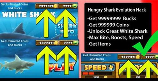 Hot Evo Guide 4 Hungry Shark
